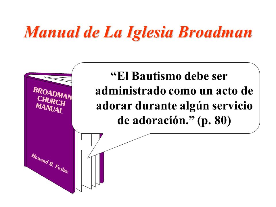 Manual de La Iglesia Broadman