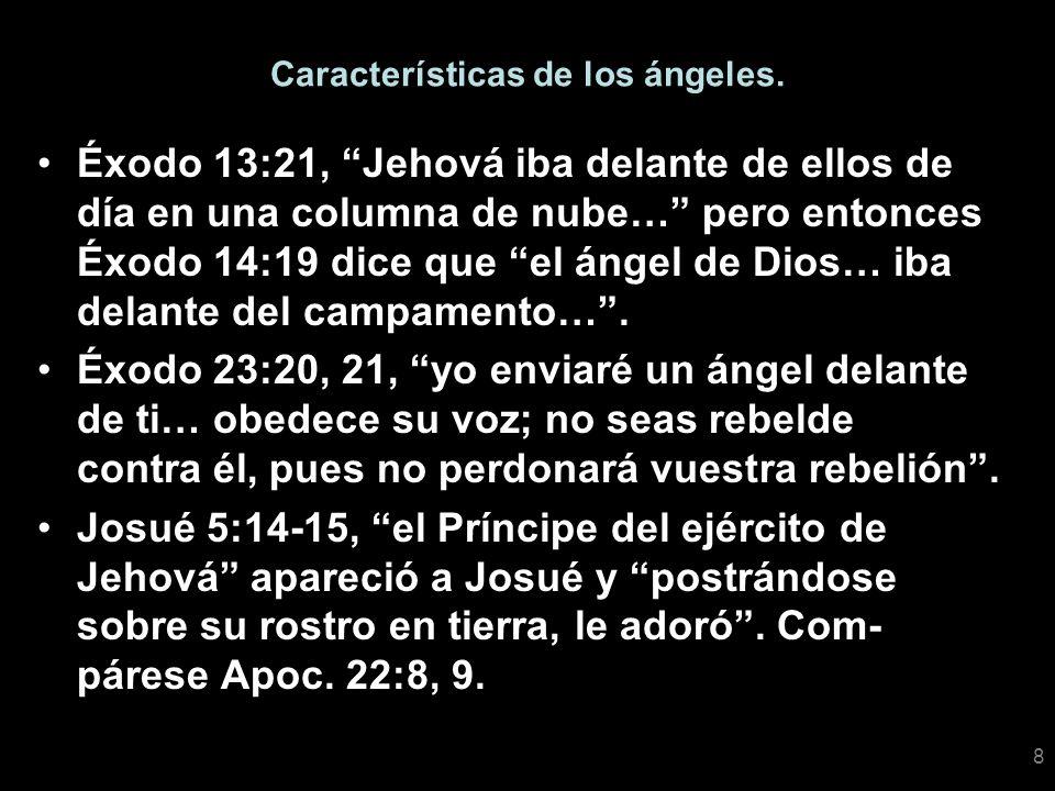 Características de los ángeles.
