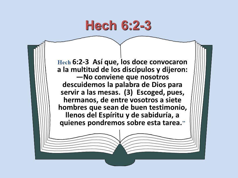 Hech 6:2-3