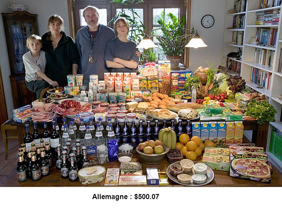 Allemagne : $500.07 50