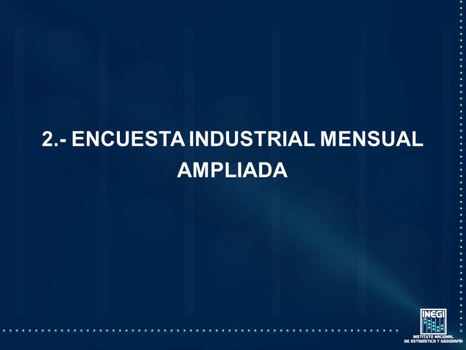 2.- ENCUESTA INDUSTRIAL MENSUAL AMPLIADA