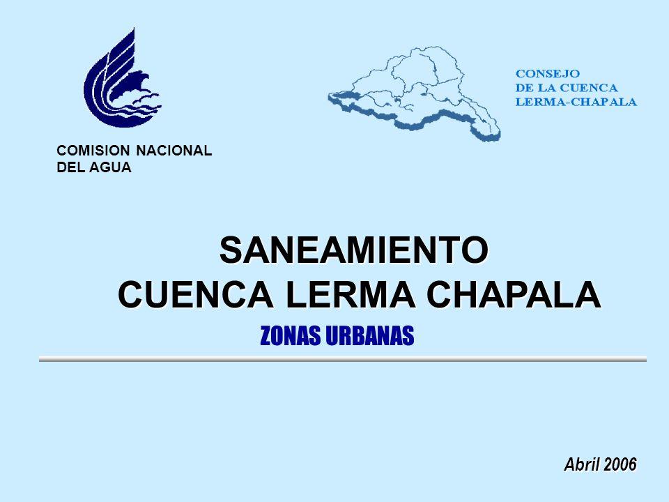 SANEAMIENTO CUENCA LERMA CHAPALA