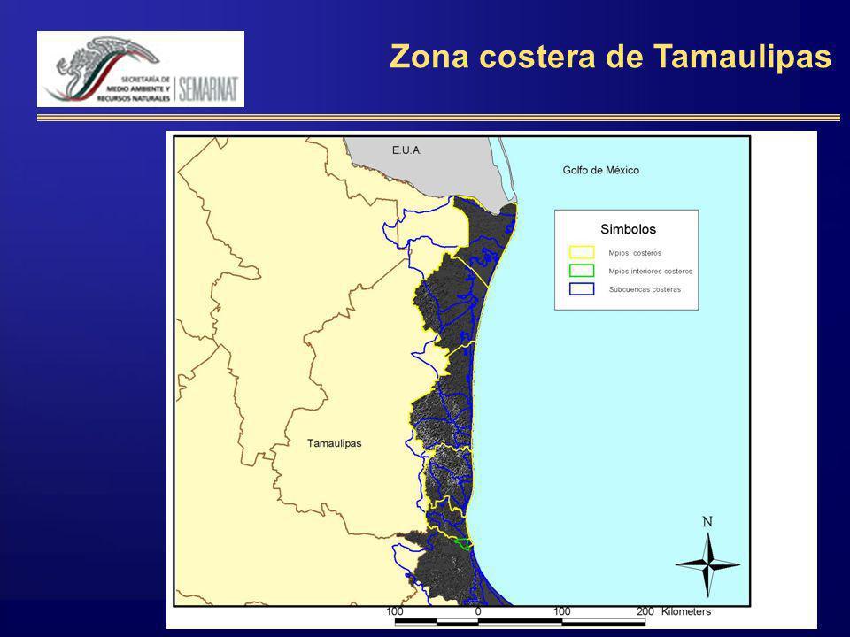 Zona costera de Tamaulipas