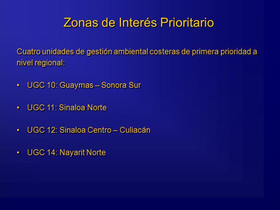 Zonas de Interés Prioritario