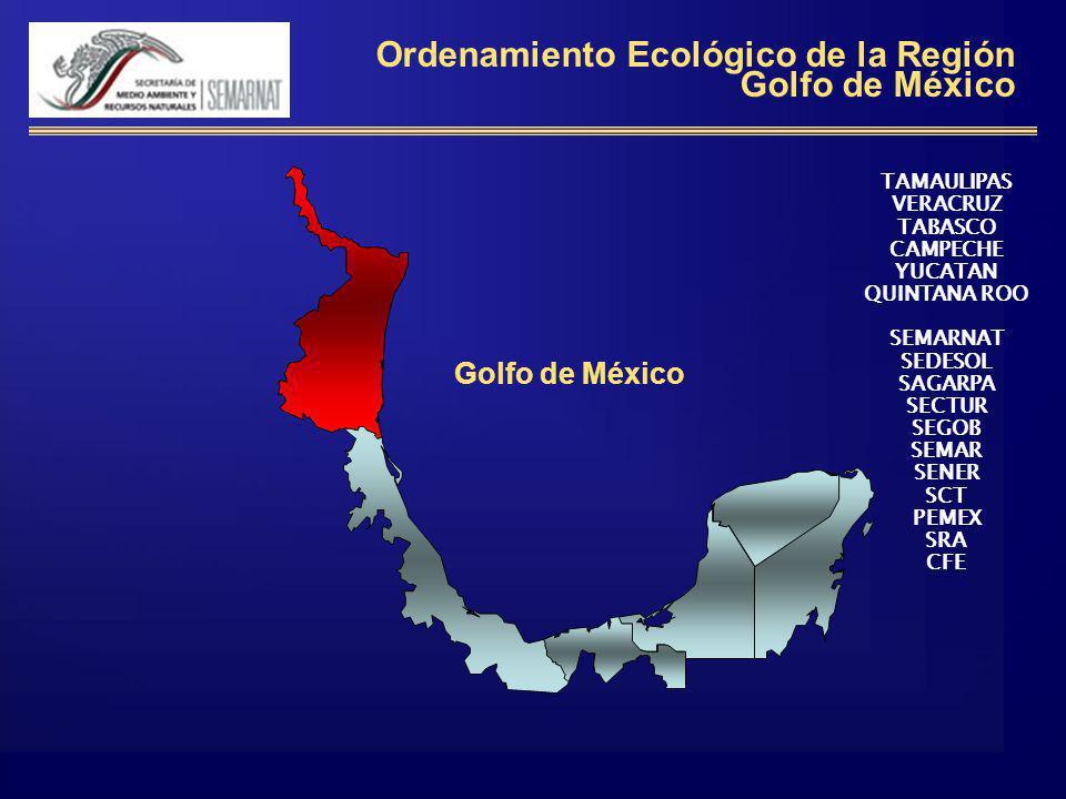 Ordenamiento Ecológico de la Región Golfo de México