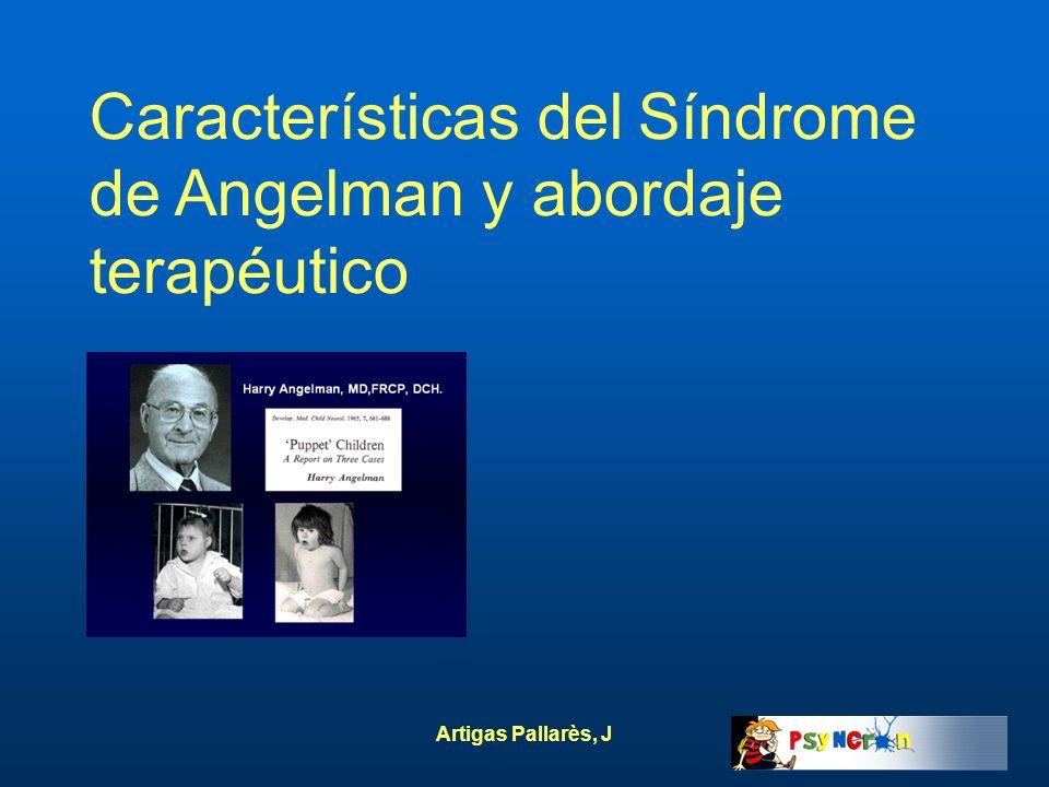 Características del Síndrome de Angelman y abordaje terapéutico