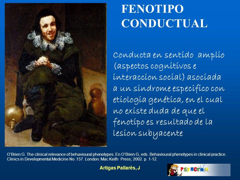 FENOTIPO CONDUCTUAL