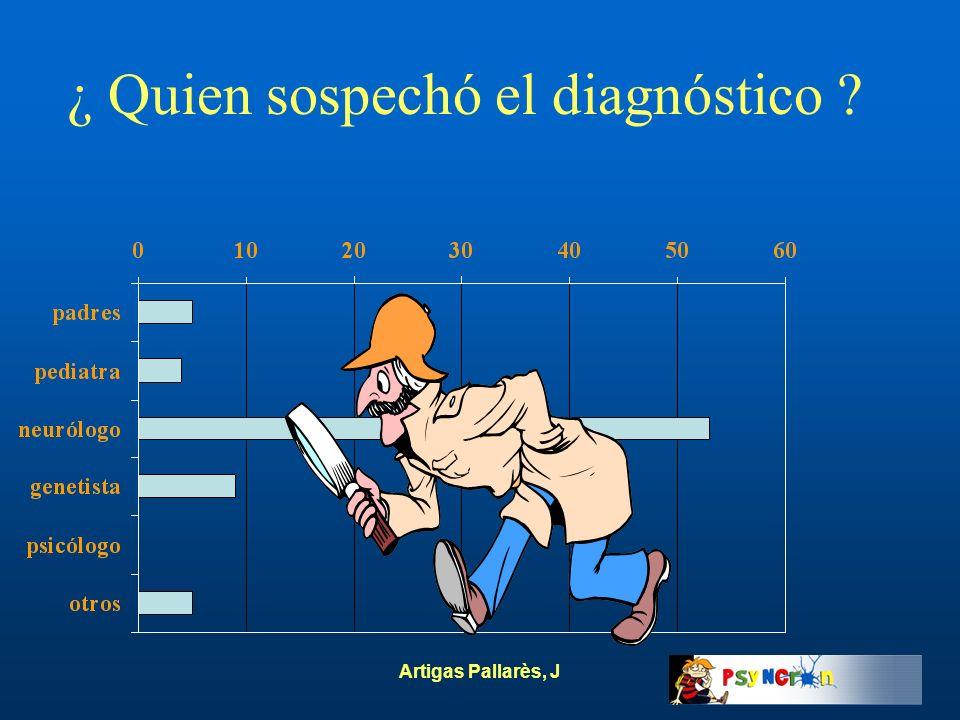 ¿ Quien sospechó el diagnóstico