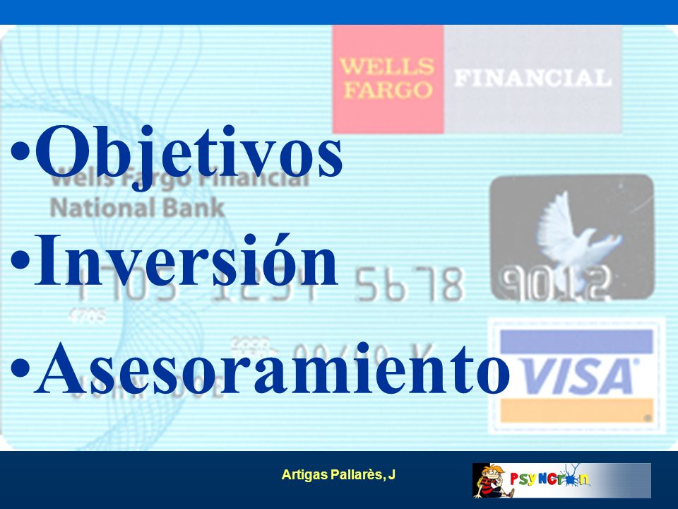 Objetivos Inversión Asesoramiento Artigas Pallarès, J