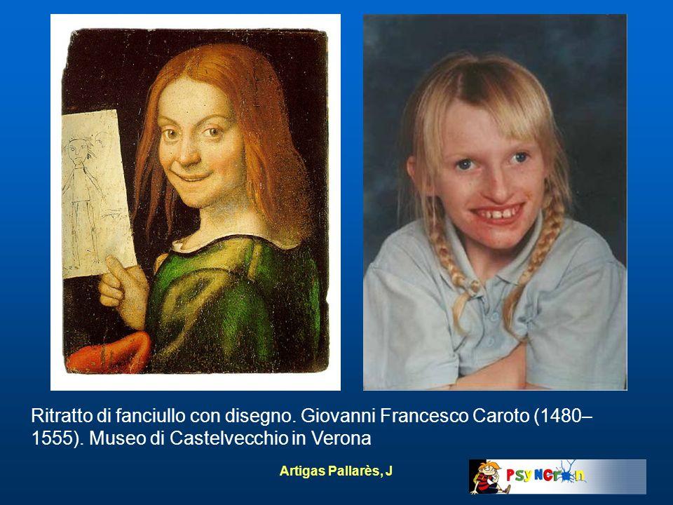 Ritratto di fanciullo con disegno