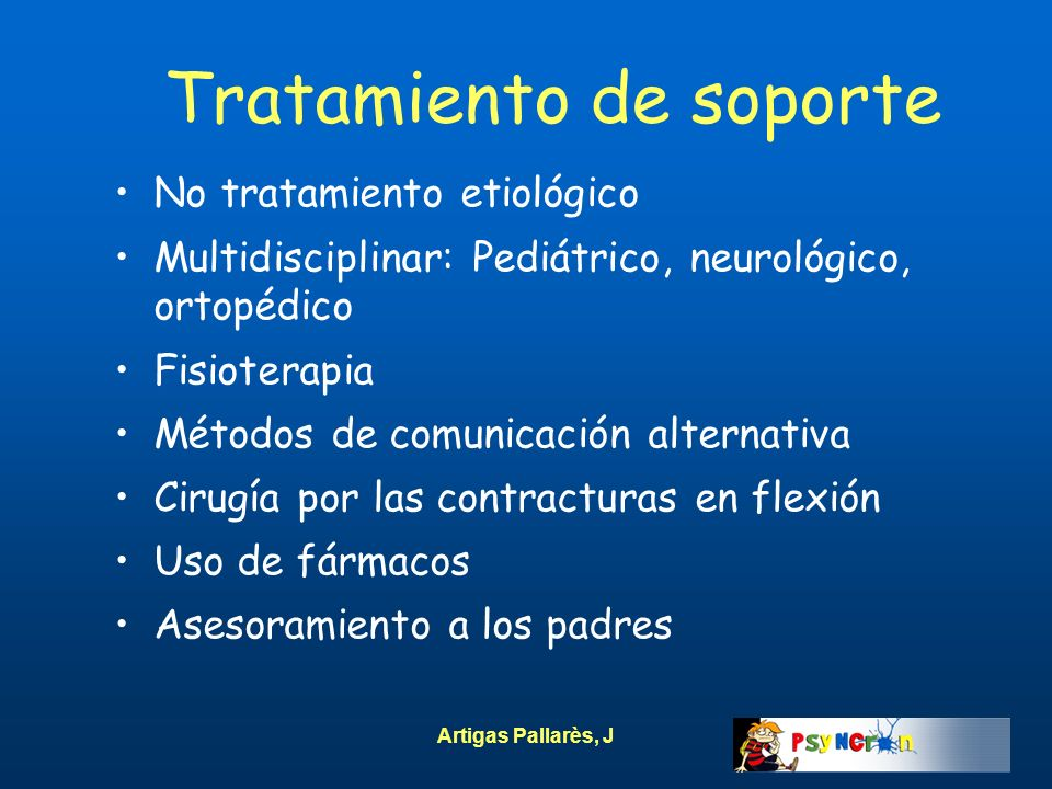 Tratamiento de soporte