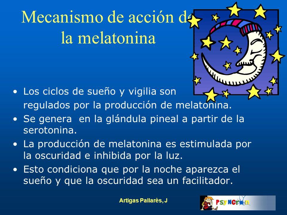 Mecanismo de acción de la melatonina
