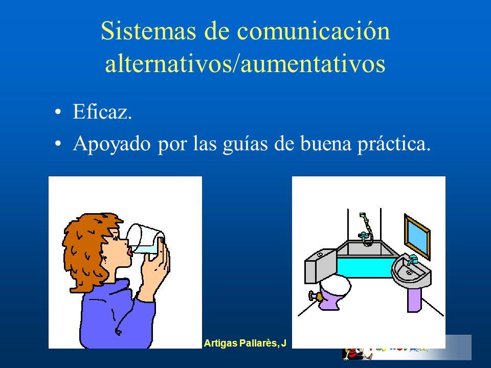 Sistemas de comunicación alternativos/aumentativos