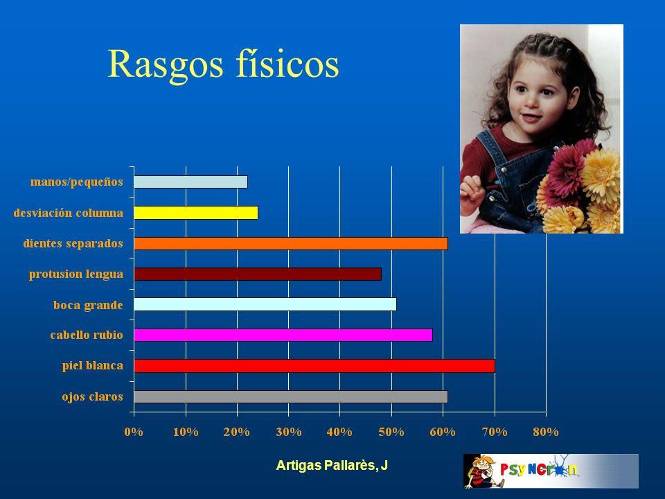 Rasgos físicos Artigas Pallarès, J