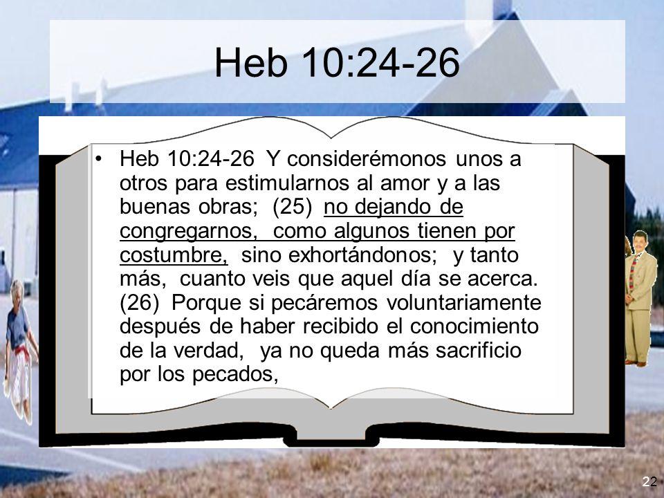 Heb 10:24-26
