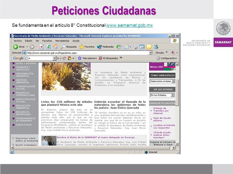 Peticiones Ciudadanas