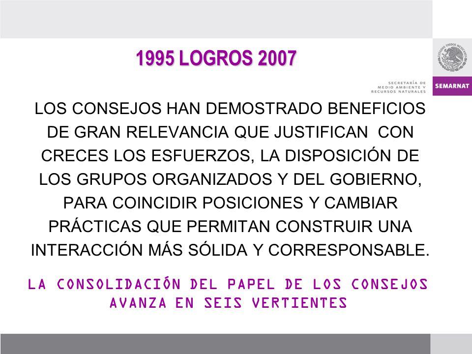 LA CONSOLIDACIÓN DEL PAPEL DE LOS CONSEJOS AVANZA EN SEIS VERTIENTES
