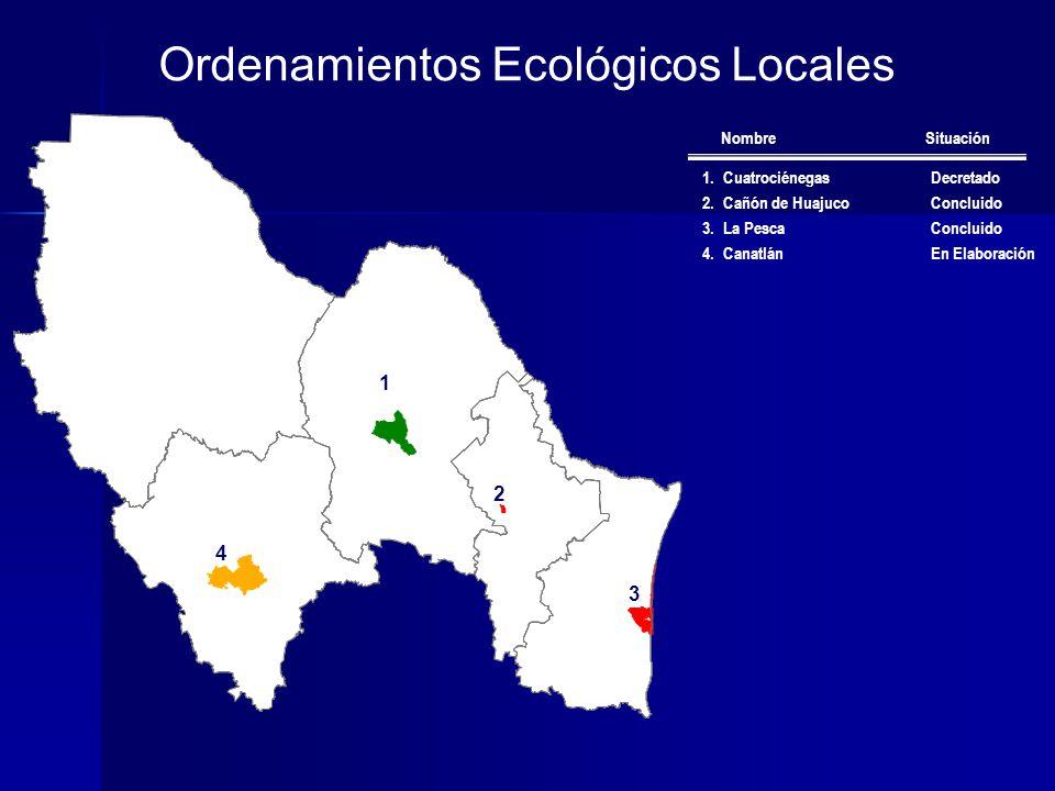 Ordenamientos Ecológicos Locales