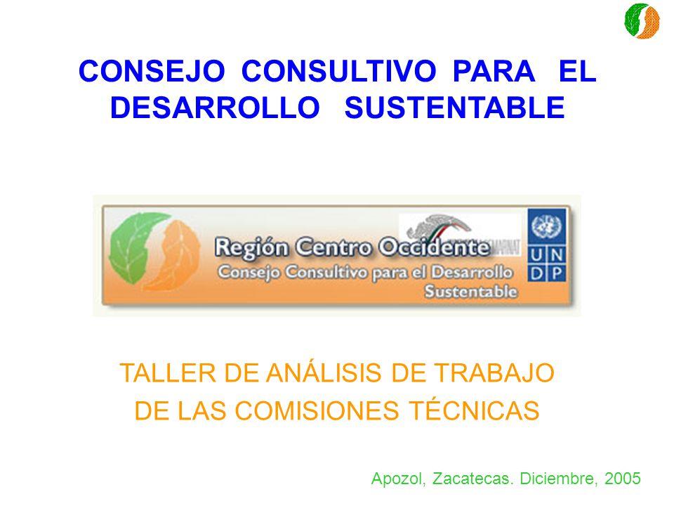 CONSEJO CONSULTIVO PARA EL DESARROLLO SUSTENTABLE