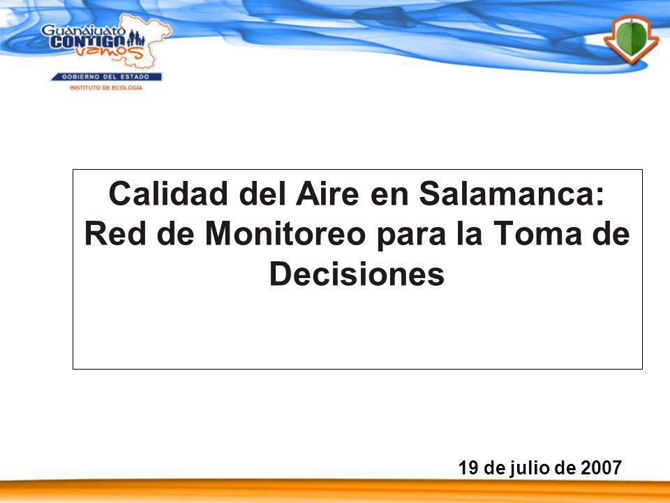 Calidad del Aire en Salamanca: Red de Monitoreo para la Toma de Decisiones