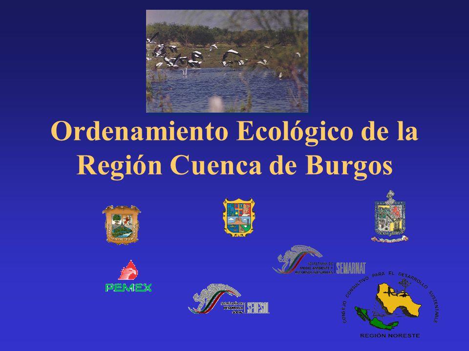 Ordenamiento Ecológico de la Región Cuenca de Burgos