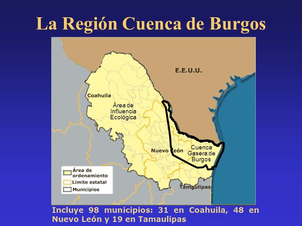 La Región Cuenca de Burgos