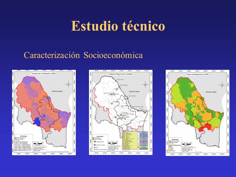 Estudio técnico Caracterización Socioeconómica