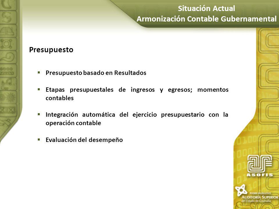 Armonización Contable Gubernamental