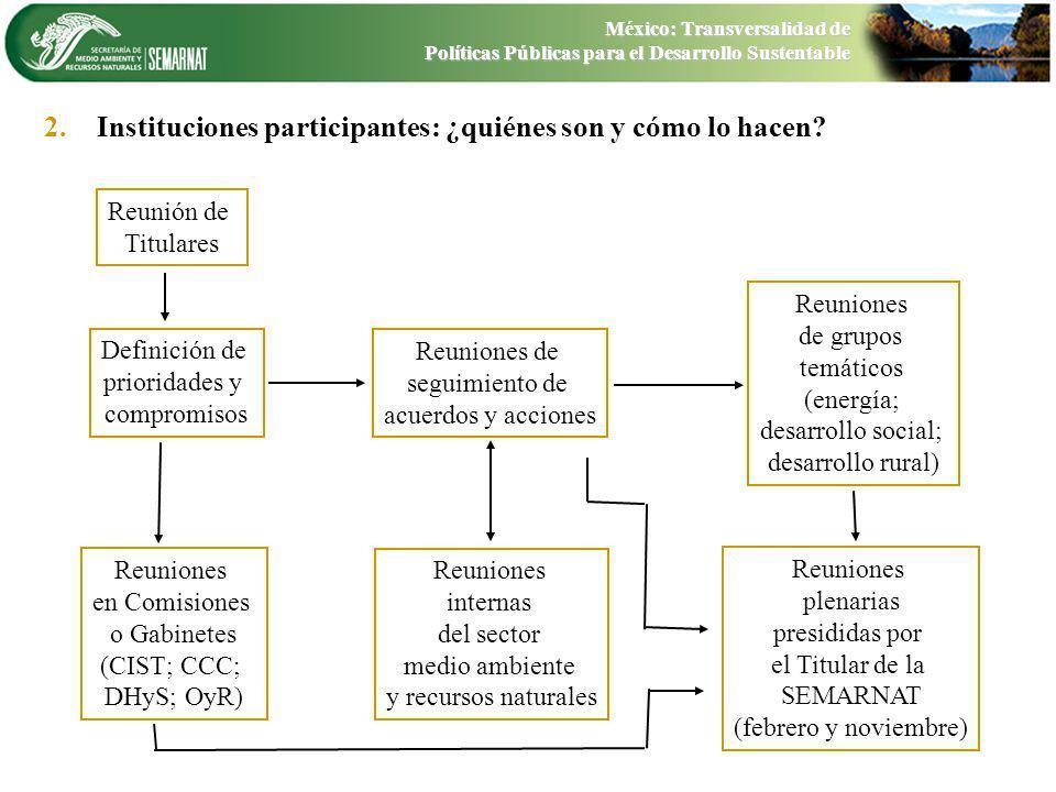 Instituciones participantes: ¿quiénes son y cómo lo hacen