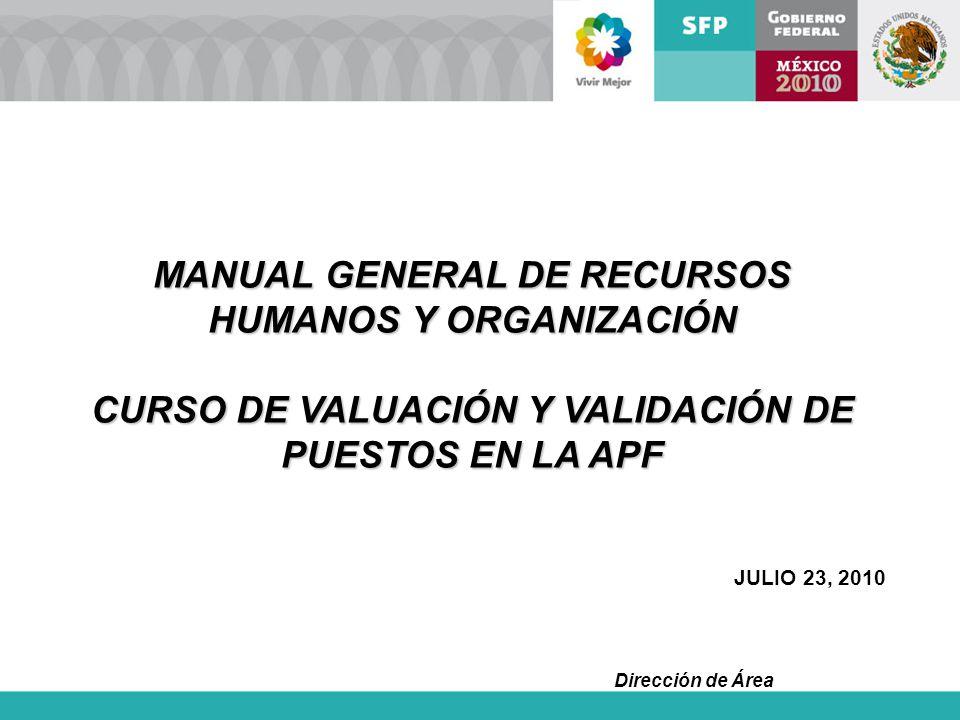 MANUAL GENERAL DE RECURSOS HUMANOS Y ORGANIZACIÓN