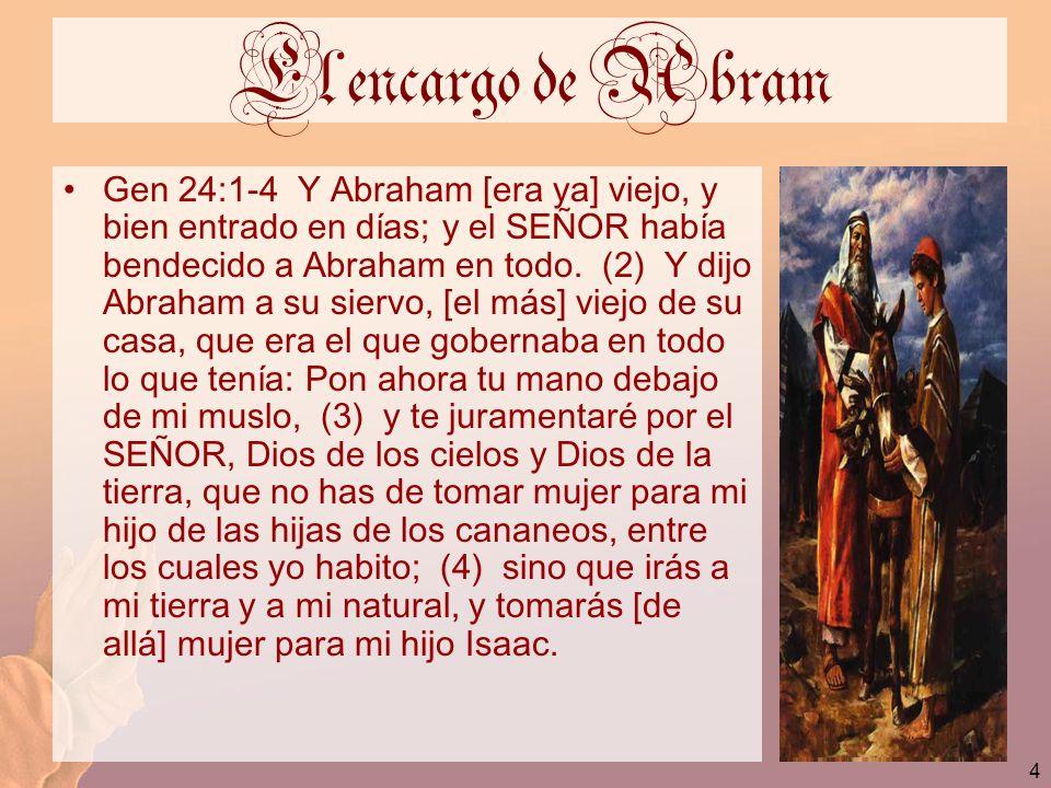 El encargo de Abram