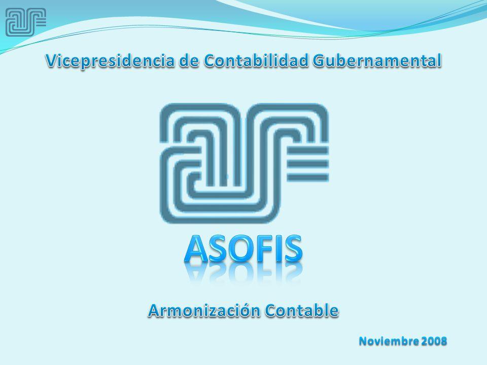 Vicepresidencia de Contabilidad Gubernamental Armonización Contable