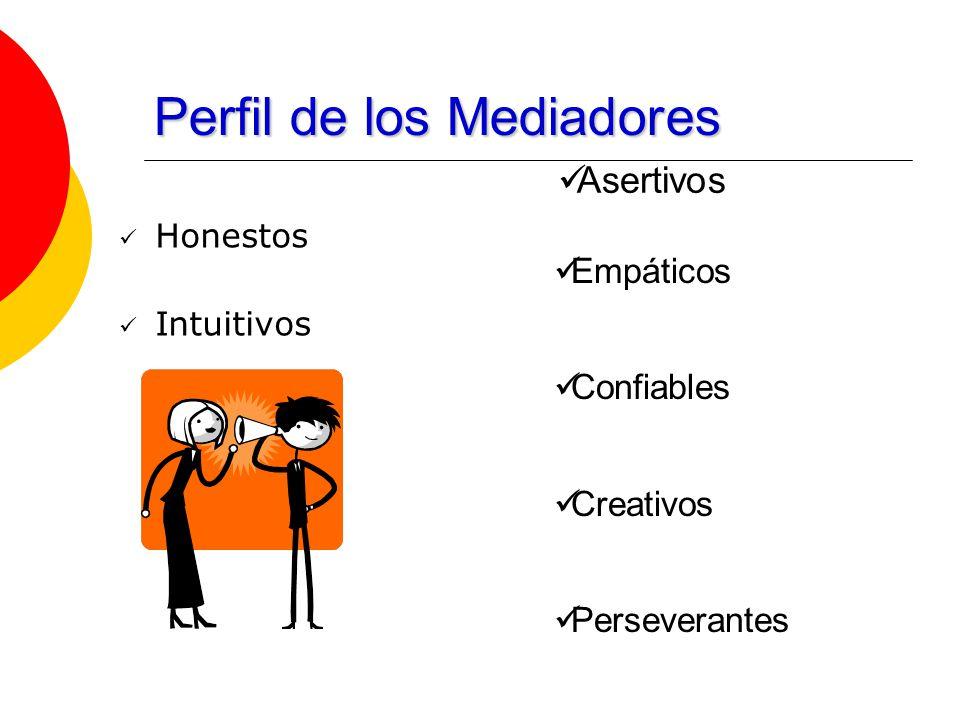 Perfil de los Mediadores