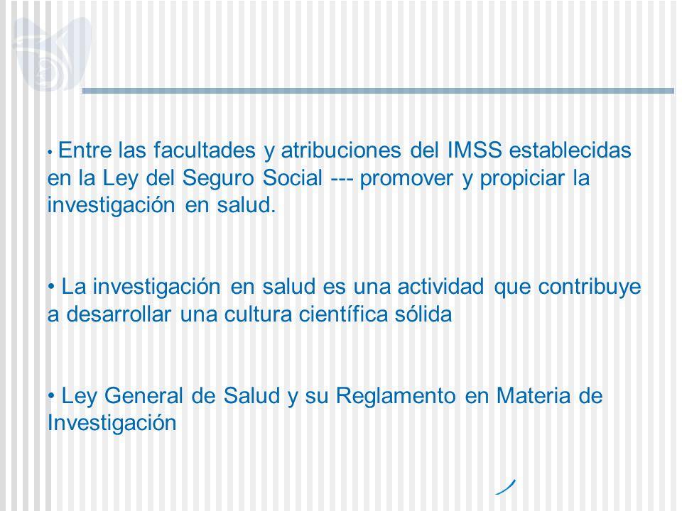 Ley General de Salud y su Reglamento en Materia de Investigación