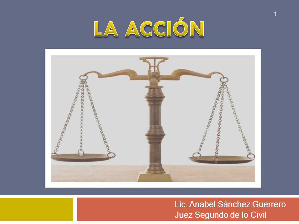 Lic. Anabel Sánchez Guerrero Juez Segundo de lo Civil