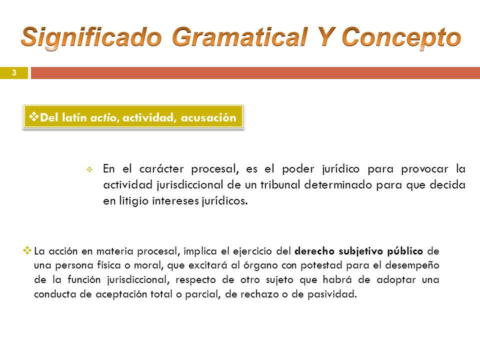 Significado Gramatical Y Concepto
