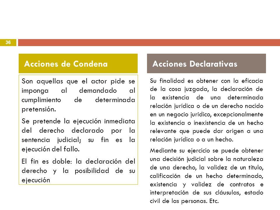 Acciones Declarativas