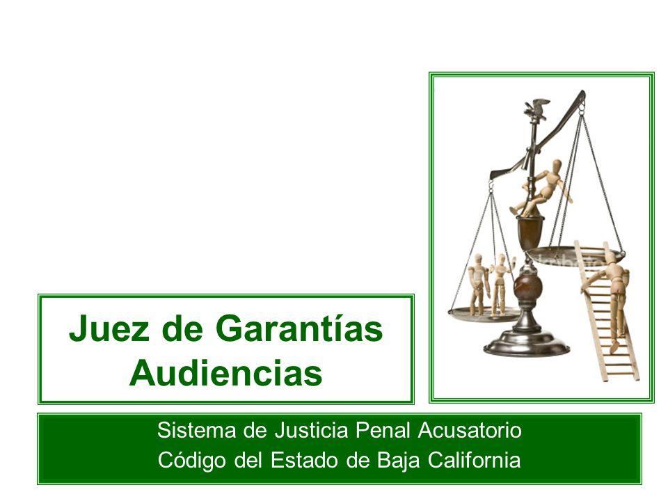 Juez de Garantías Audiencias