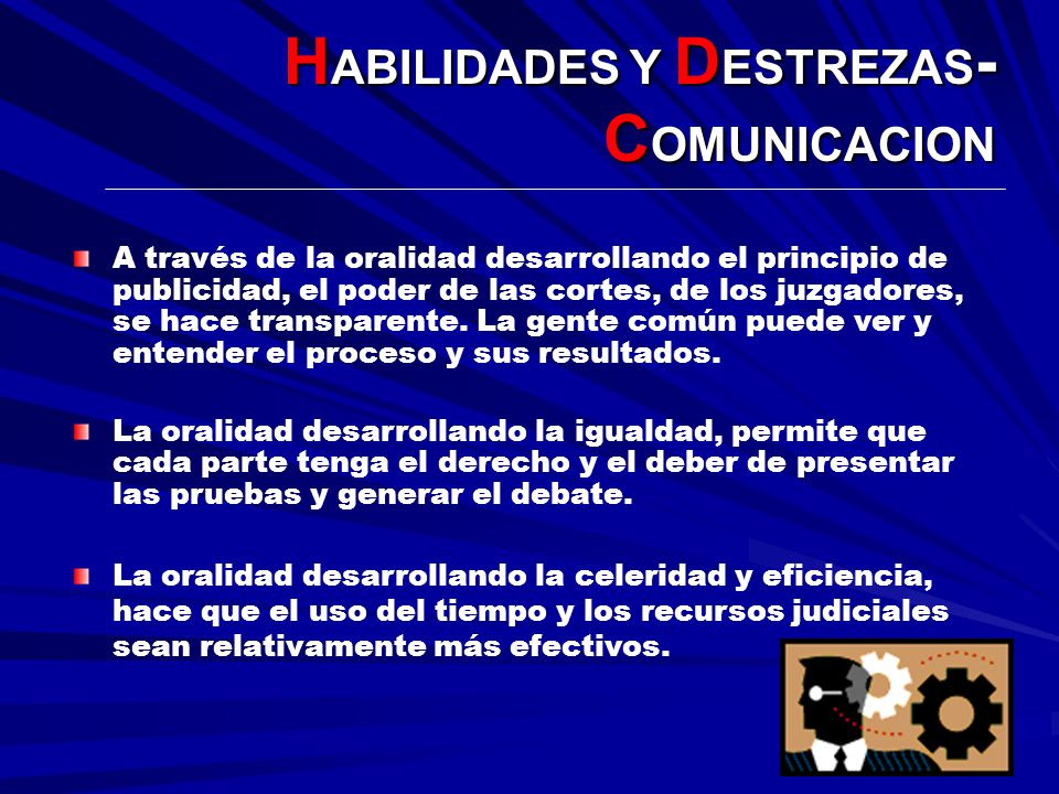 HABILIDADES Y DESTREZAS-COMUNICACION