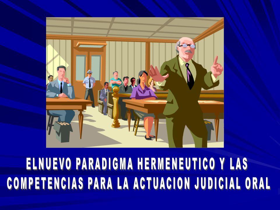 ELNUEVO PARADIGMA HERMENEUTICO Y LAS
