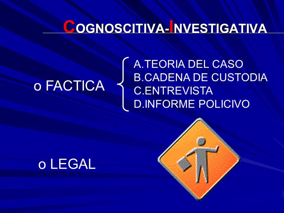 COGNOSCITIVA-INVESTIGATIVA