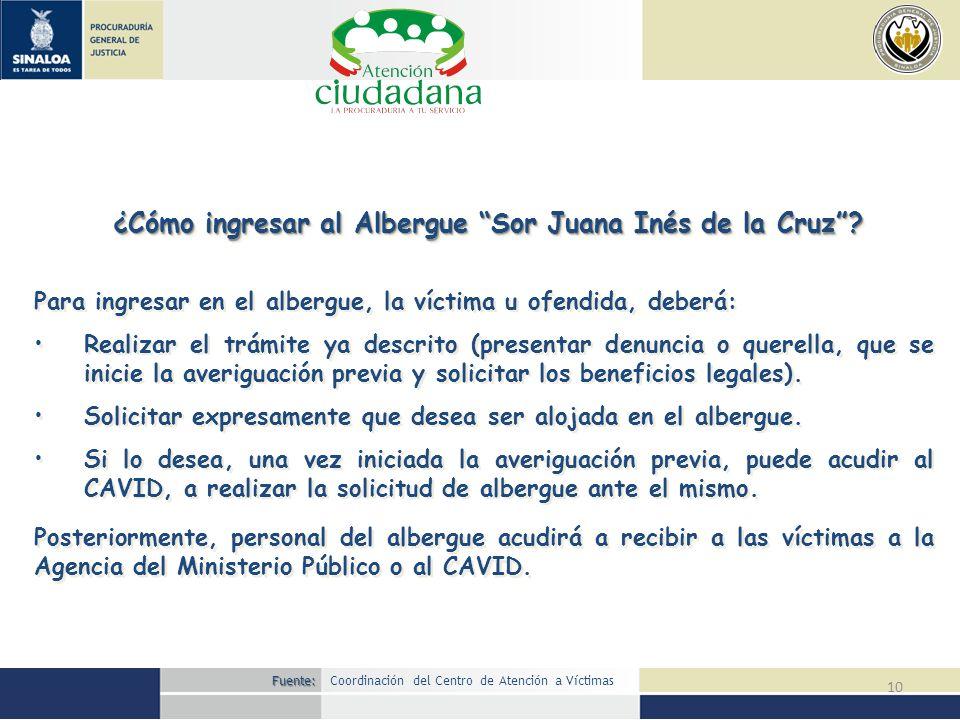 ¿Cómo ingresar al Albergue Sor Juana Inés de la Cruz