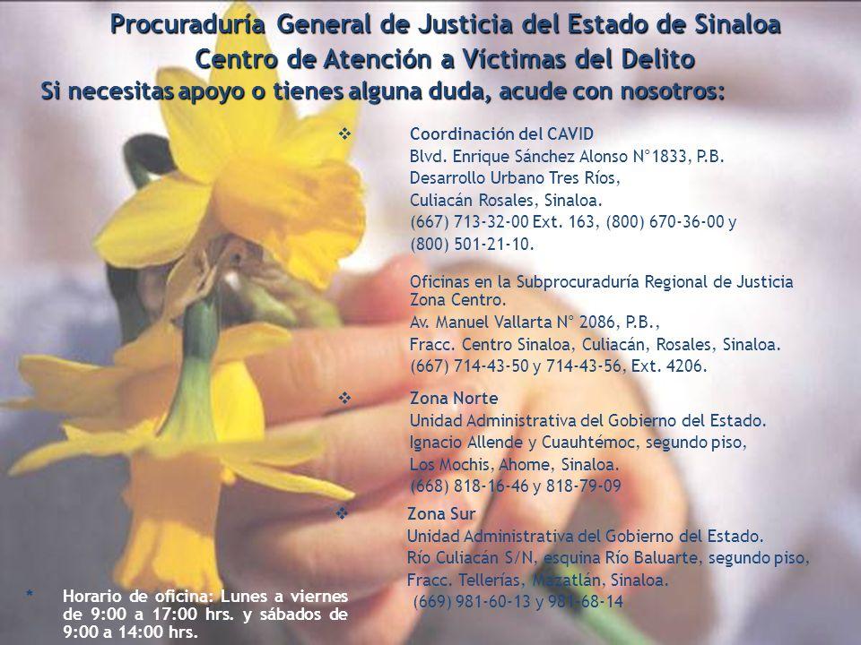 Procuraduría General de Justicia del Estado de Sinaloa