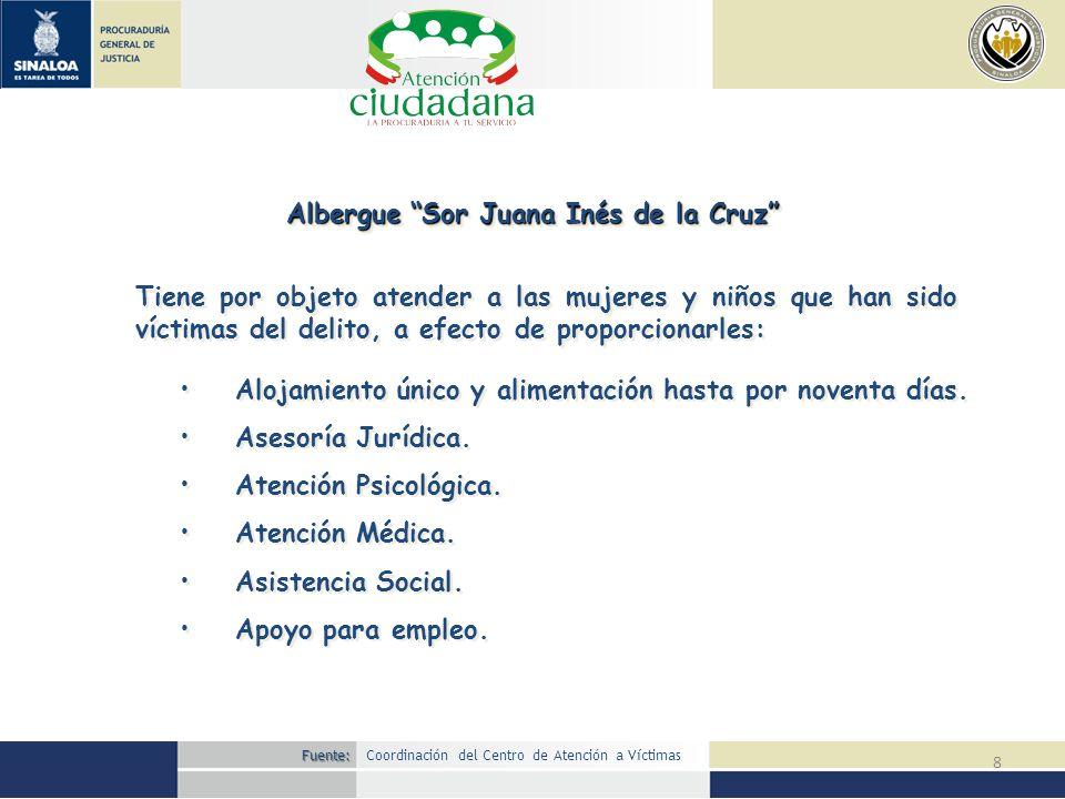 Albergue Sor Juana Inés de la Cruz