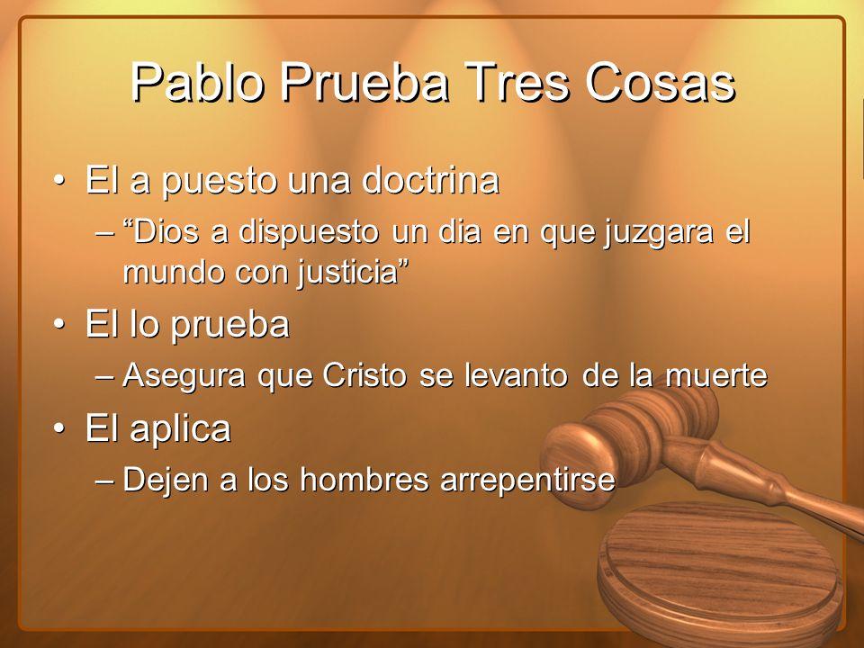 Pablo Prueba Tres Cosas