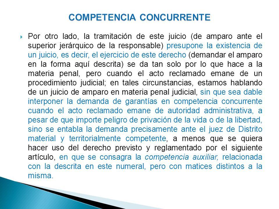 COMPETENCIA CONCURRENTE