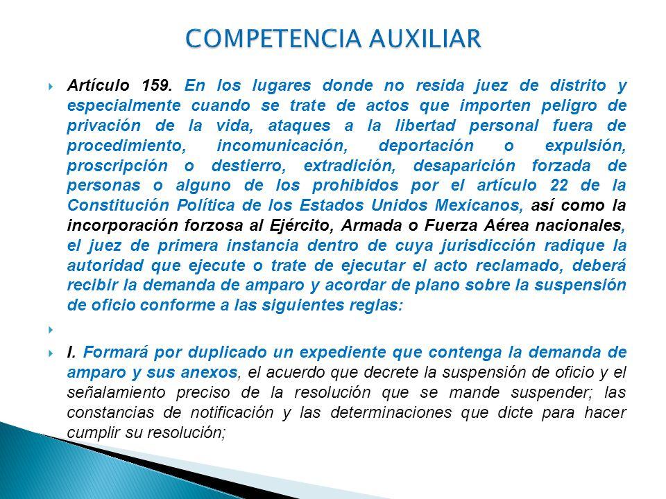 COMPETENCIA AUXILIAR