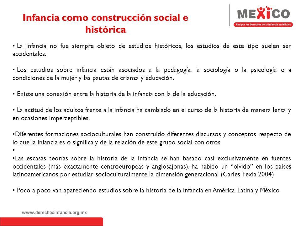 Infancia como construcción social e histórica