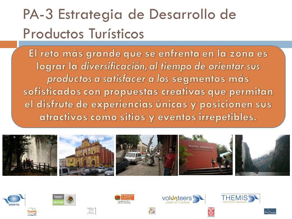 PA-3 Estrategia de Desarrollo de Productos Turísticos