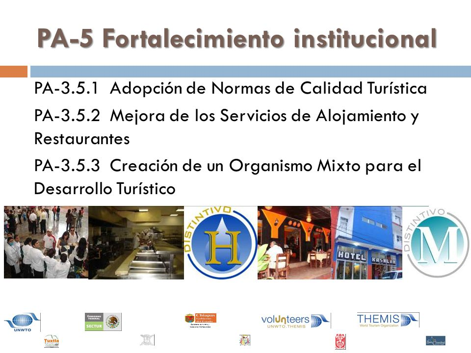 PA-5 Fortalecimiento institucional